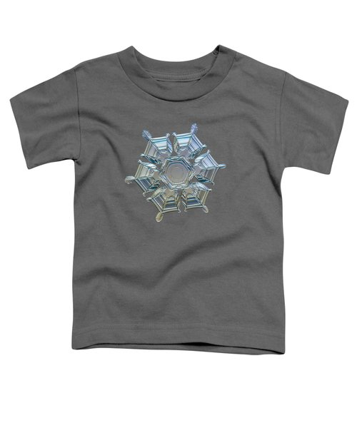 Snowflake Photo - Ice Relief Toddler T-Shirt
