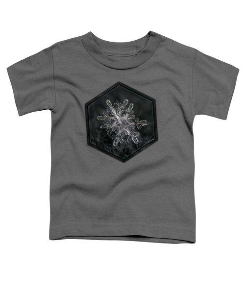 Snowflake Photo - January 18 2013 Grey Colors Toddler T-Shirt