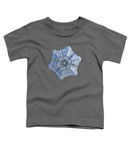 Snowflake Photo - Winter Fortress Toddler T-Shirt