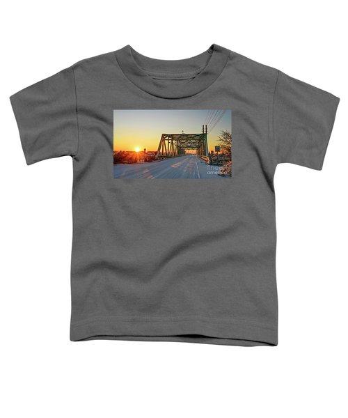 Snowy Bridge Toddler T-Shirt