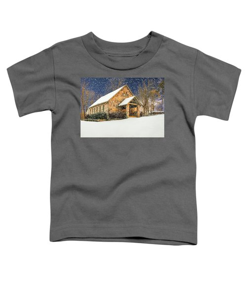 Snowy Cloudland Presbyterian Church  Toddler T-Shirt