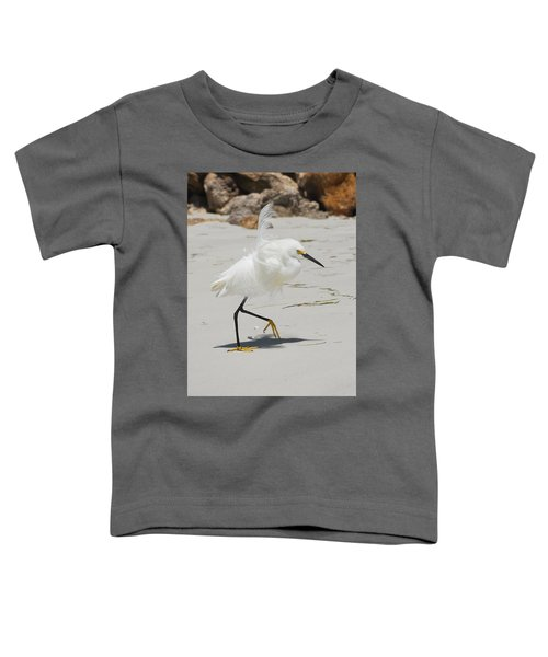 Snowy Egret 6429 Windy Toddler T-Shirt