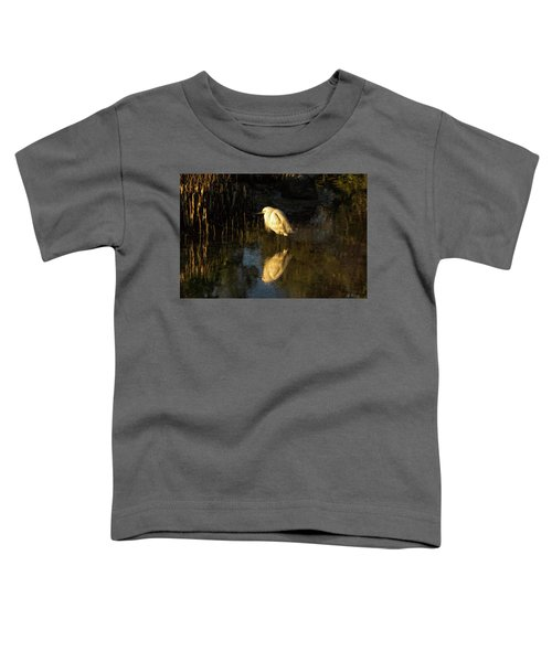 Snowy Kissed By Last Light Toddler T-Shirt