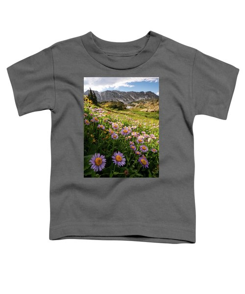 Snowy Range Flowers Toddler T-Shirt