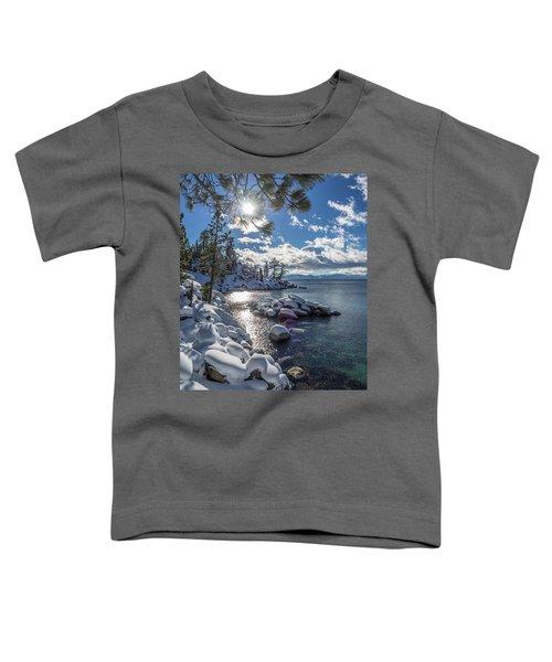 Snowy Tahoe Toddler T-Shirt