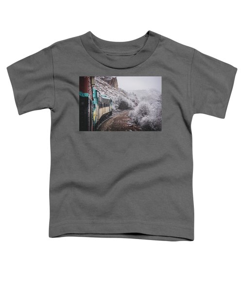 Snowy Verde Canyon Railroad Toddler T-Shirt