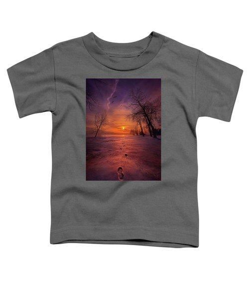So Close No Matter How Far Toddler T-Shirt
