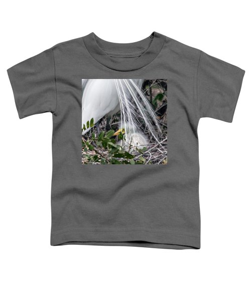 So Safe With Mom 2 Toddler T-Shirt