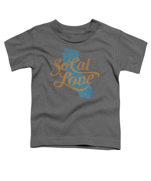 Socal Love Toddler T-Shirt by Jason Richard
