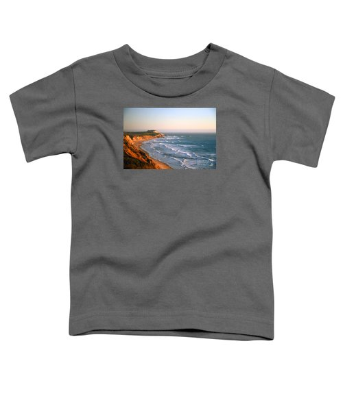 Socal Sunset Ocean Front Toddler T-Shirt