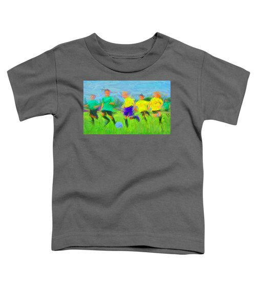 Soccer 3 Toddler T-Shirt