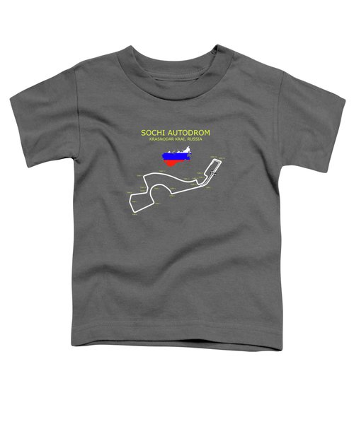 Sochi Autodrom Toddler T-Shirt