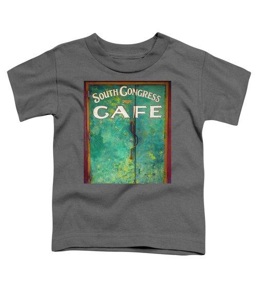 Soco Cafe Doors Toddler T-Shirt