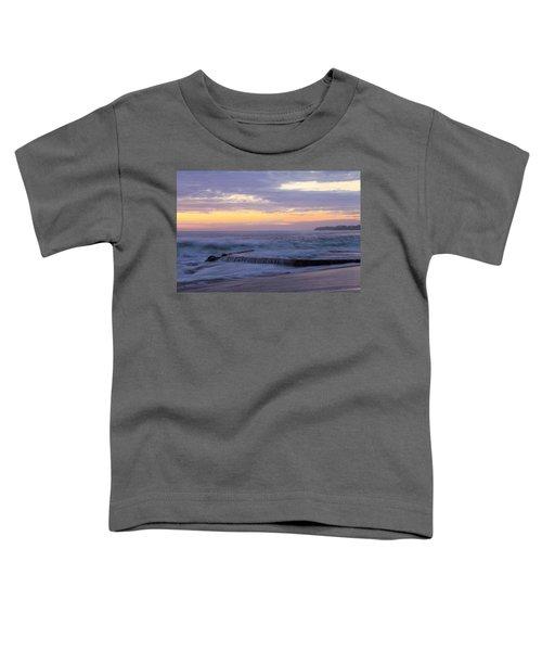 Soft Light On Victoria Beach Toddler T-Shirt