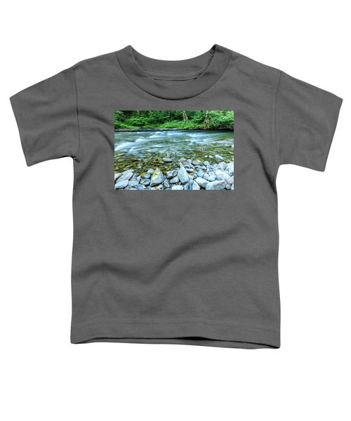 Sol Duc River In Summer Toddler T-Shirt