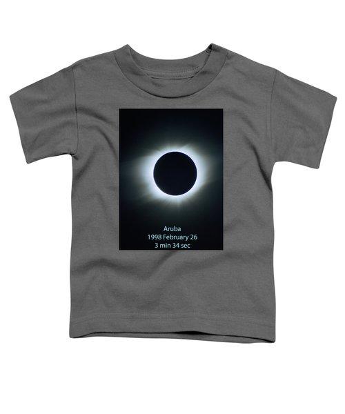 Solar Eclipse Aruba 1998 Toddler T-Shirt
