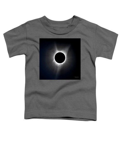 Solar Eclipse Totality Corona Toddler T-Shirt