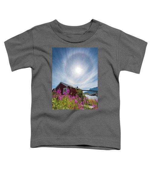 Solar Halo Above Rorbu Toddler T-Shirt