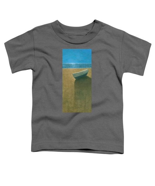 Solitary Boat Toddler T-Shirt