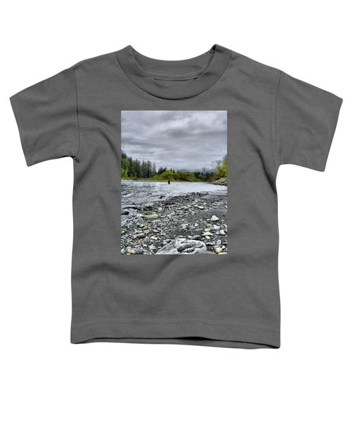 Solitude On The River Toddler T-Shirt
