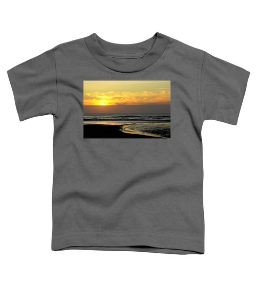 Solo Sunset On The Beach Toddler T-Shirt