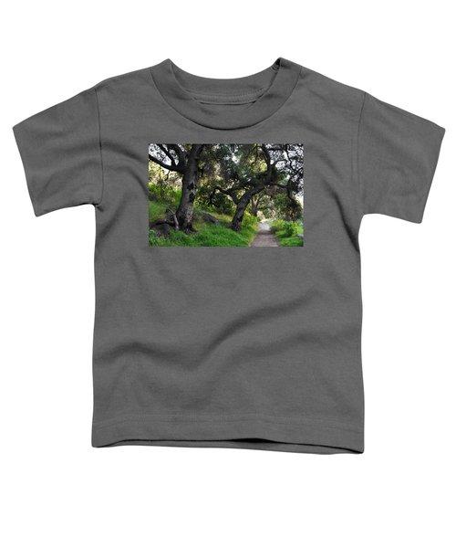 Solstice Canyon Live Oak Trail Toddler T-Shirt