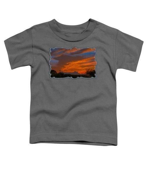Sombrero Peaks Sunset Op10 Toddler T-Shirt