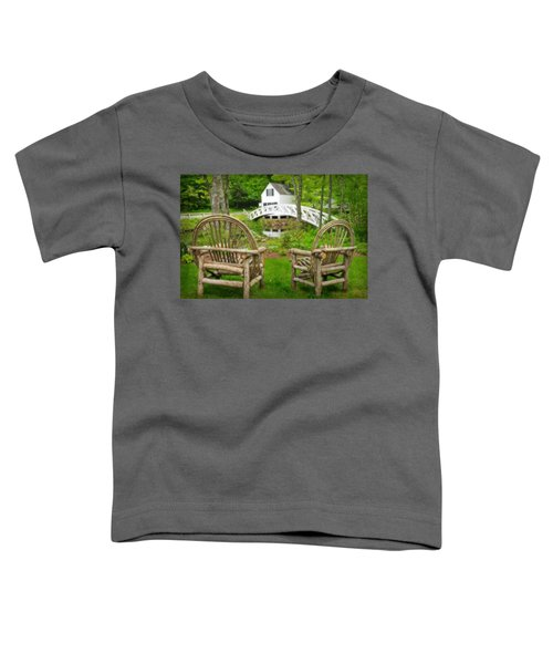 Somesville Maine - Arched Bridge Toddler T-Shirt