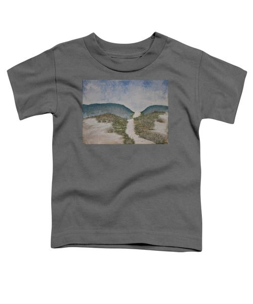 Toddler T-Shirt featuring the painting Somewhere In Florida by Antonio Romero