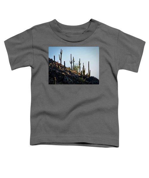 Sonoran Desert Saguaro Slope Toddler T-Shirt