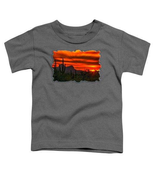 Sonoran Sunset H38 Toddler T-Shirt