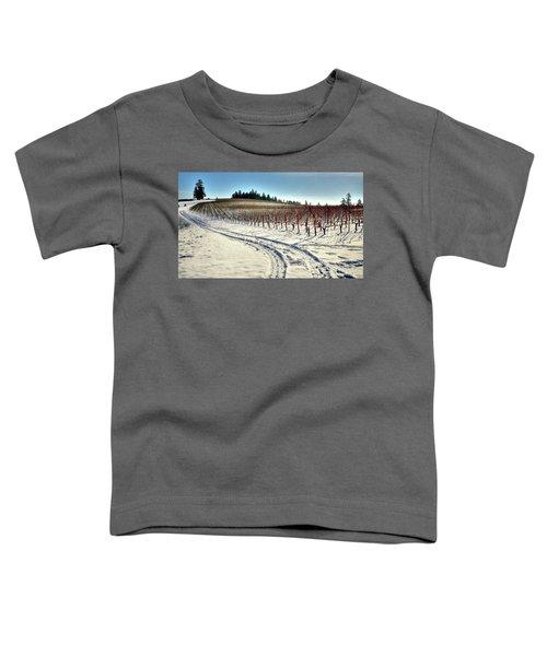 Soter Vineyard Winter Toddler T-Shirt