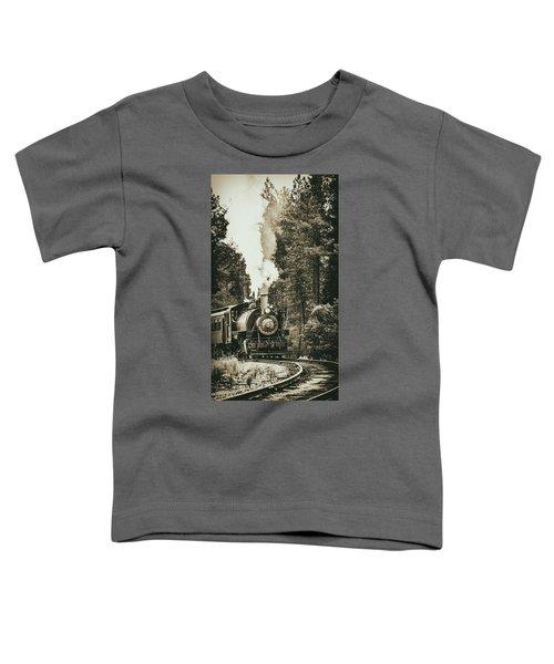 South Dakota Iron Toddler T-Shirt
