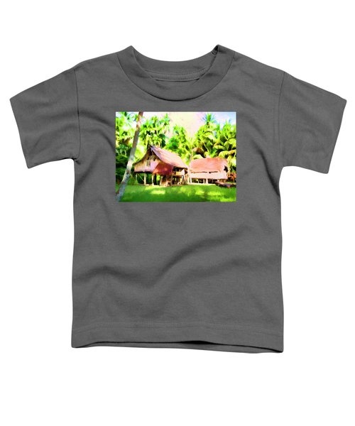 South Pacific Idyll Toddler T-Shirt