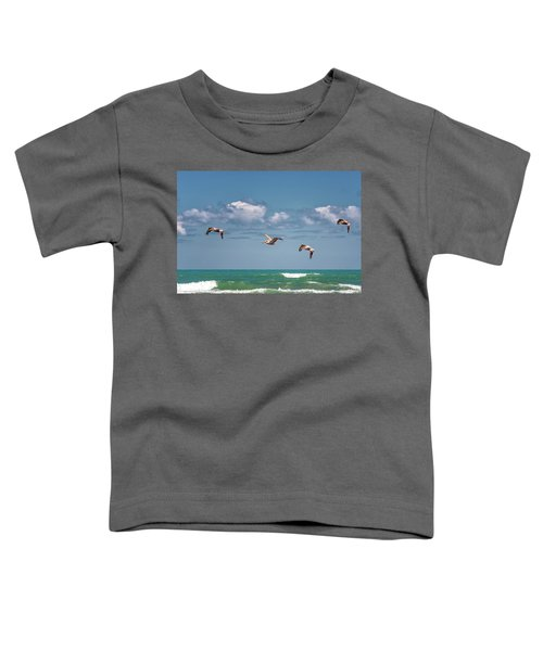 South Padre Island Pelicans Toddler T-Shirt