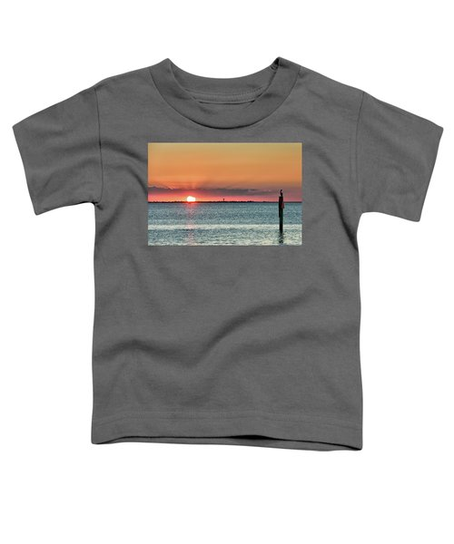South Padre Island Sunset Toddler T-Shirt