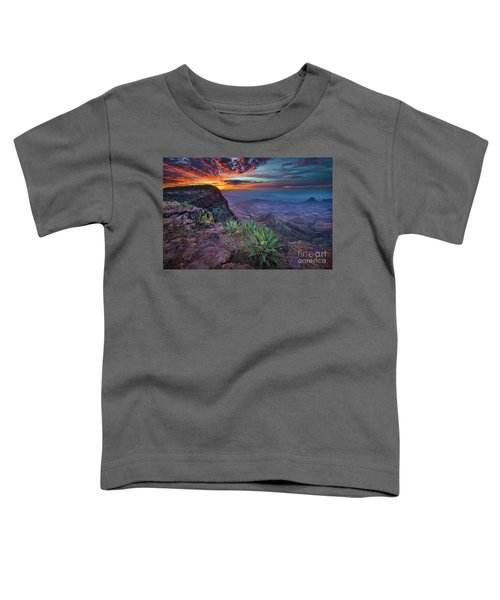 South Rim Sunrise Toddler T-Shirt