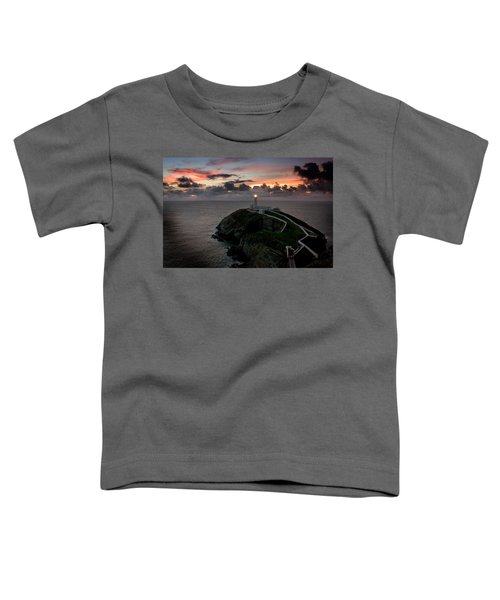South Stack At Sunset Toddler T-Shirt