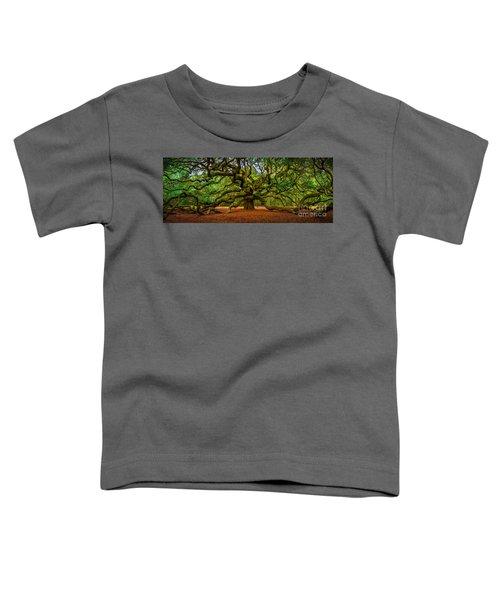 Angel Oak In Charleston Toddler T-Shirt