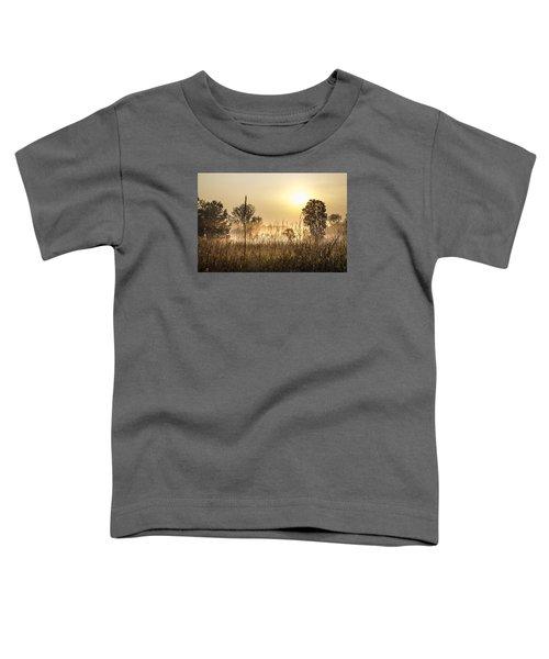 Southern Michigan Foggy Morning  Toddler T-Shirt