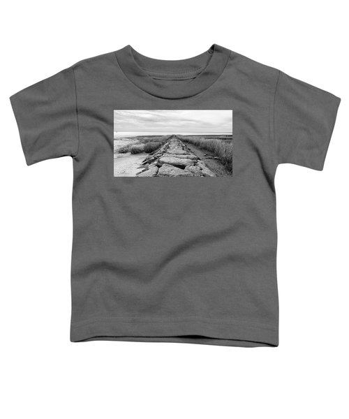 Southport Beach Jetty Toddler T-Shirt