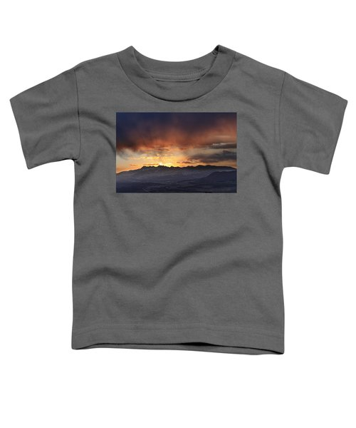 Southwest Colorado Sunset Toddler T-Shirt