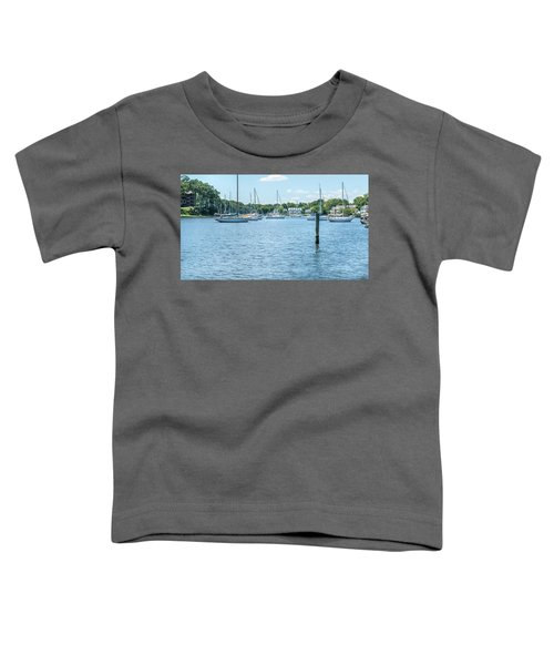 Spa Creek In Blue Toddler T-Shirt