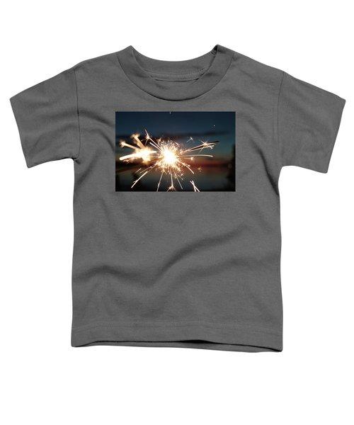Sparklers After Sunset Toddler T-Shirt