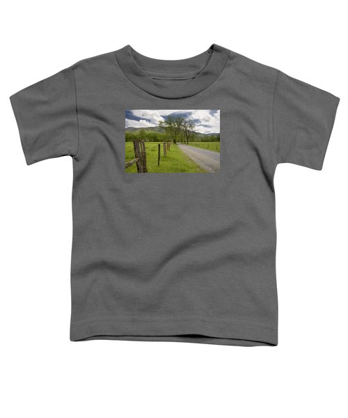 Sparks Lane In Cade Cove Toddler T-Shirt