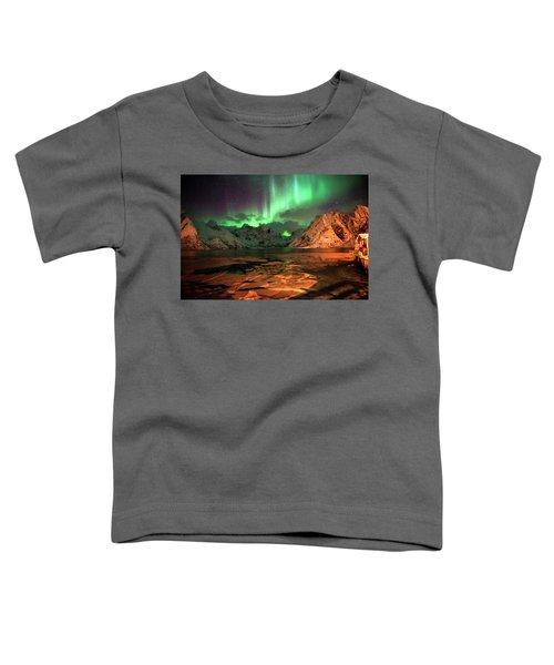 Spectacular Night In Lofoten 1 Toddler T-Shirt