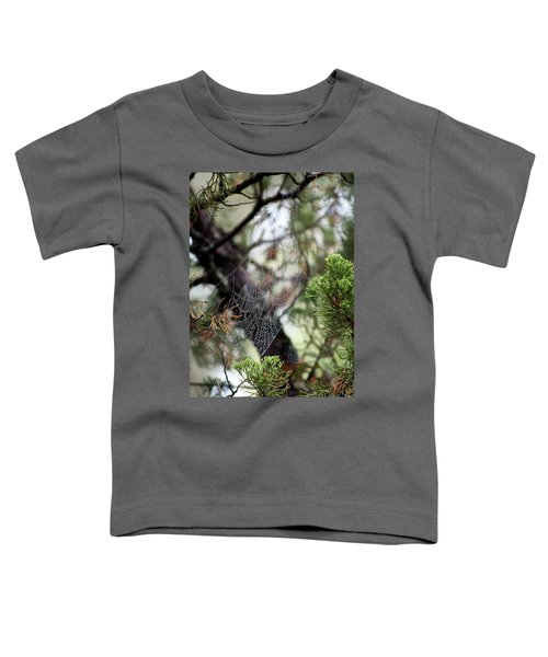 Spider Web In Tree Toddler T-Shirt