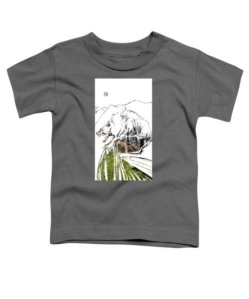 Spirit Animal . Wolverine Toddler T-Shirt