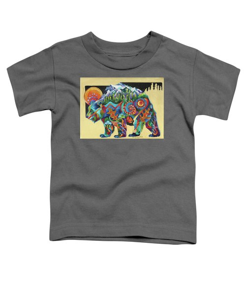 Spirit Bear Totem Toddler T-Shirt
