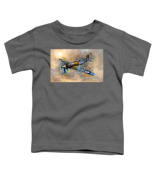 Spitfire Dawn Flight Toddler T-Shirt